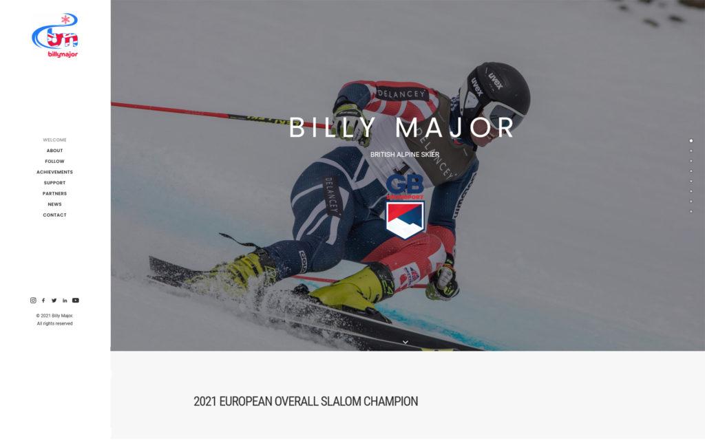 Billy Major Website