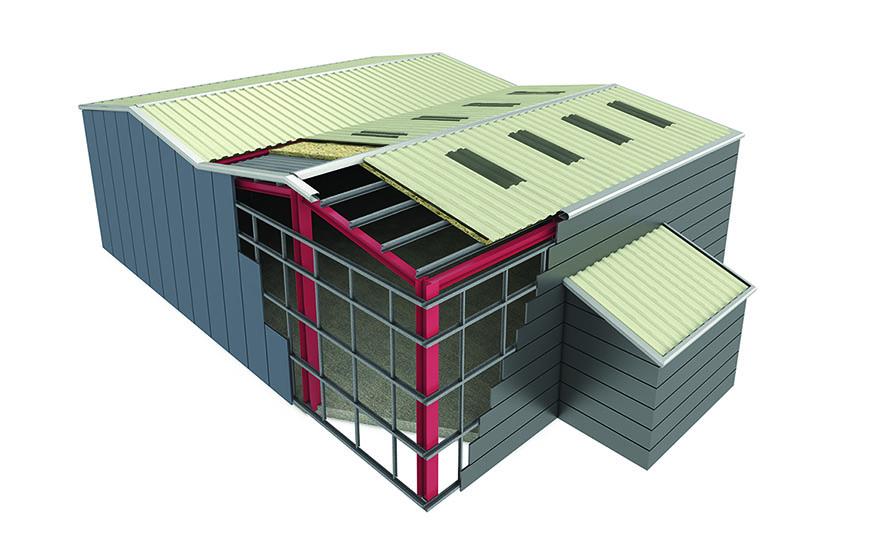 Industrial Roof illustration